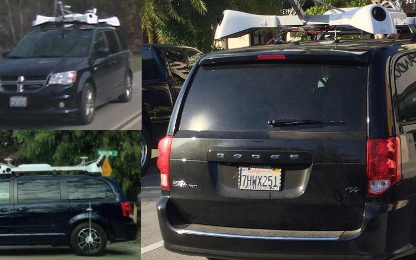 Apple připravuje svoje mapy i autonomní vozidlo