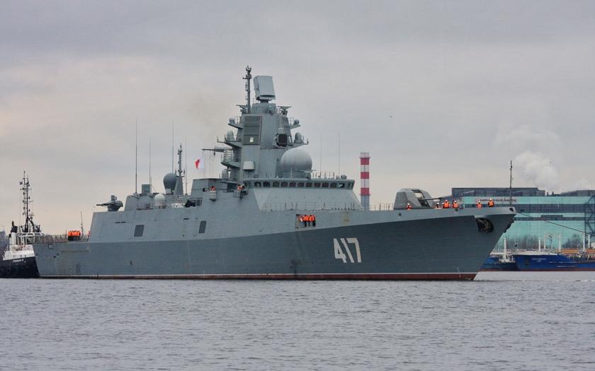 Ukrajina nedodá motory pro ruské fregaty