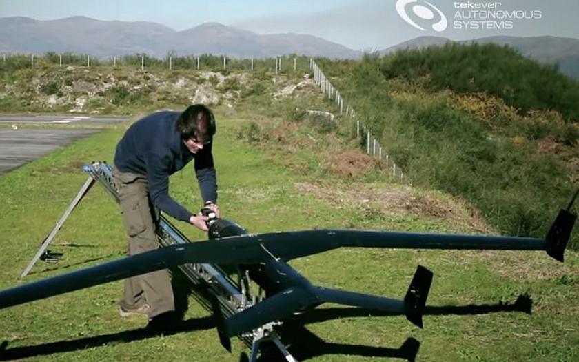 Drony mají ochránit evropské hranice. Nejmodernější technologie proti pašerákům