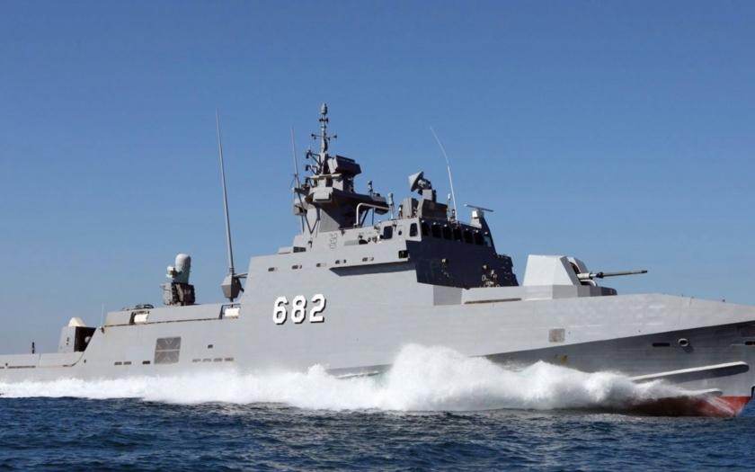 Egyptské námořnictvo má nejvyspělejší raketové čluny v Středozemním moři