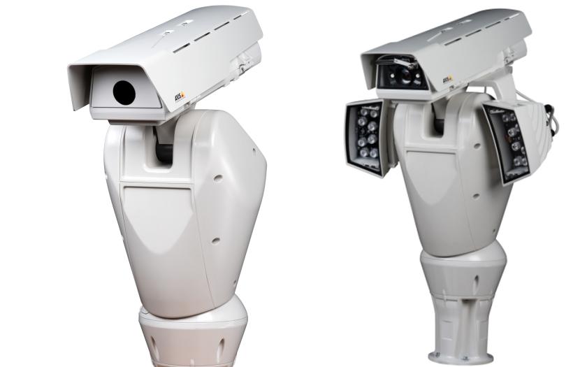 Vizuální a termální kamery pro obvodovou ochranu, ostrahu hranic a monitoring