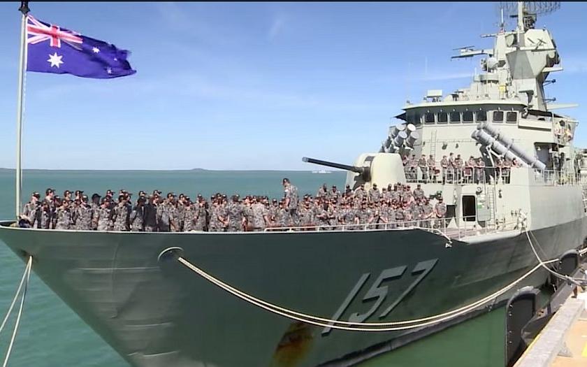 Japonsko se účastní americko-australských válečných cvičení proti Číně