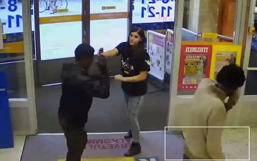 Prodavačka a pepřový sprej - zloději neměli šanci