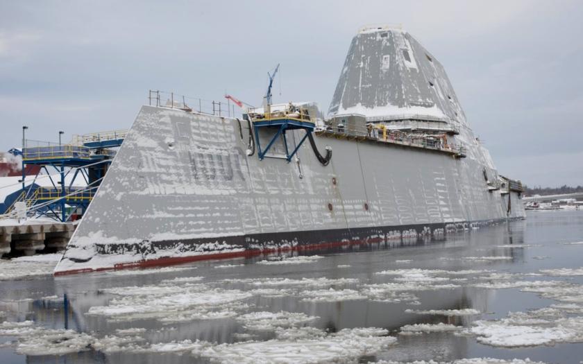 USS Zumwalt: Největší a nejvyspělejší torpédoborec světa