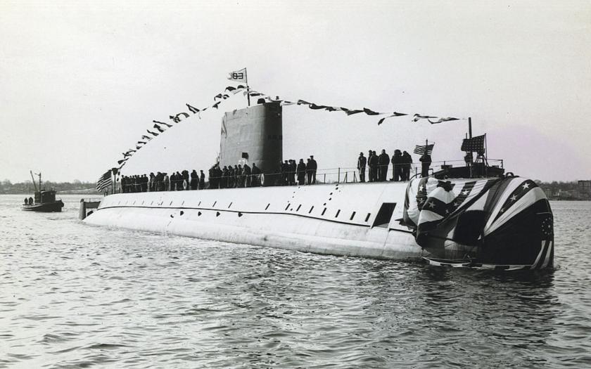 3. srpna 1958 dosáhla jaderná ponorka Nautilus Severního pólu