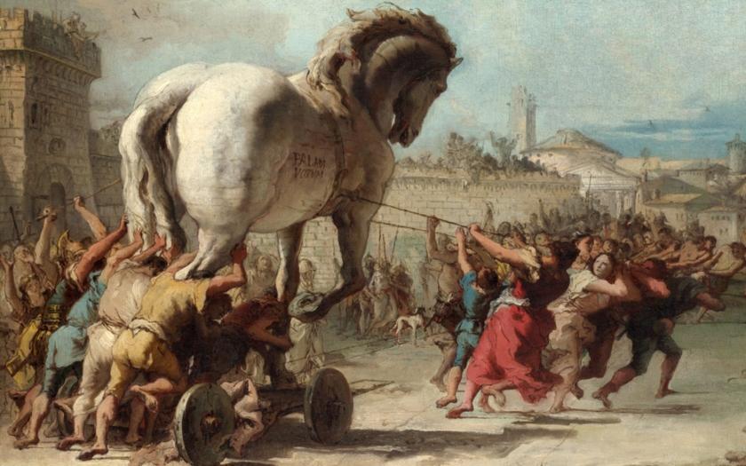 Uprchlíci - trojský kůň Evropy