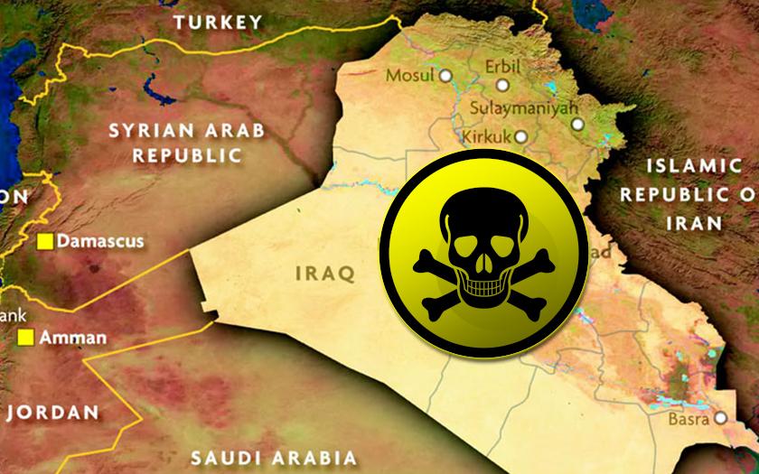V sobotu použili teroristé s vazbami na ISIS chemické zbraně v Iráku