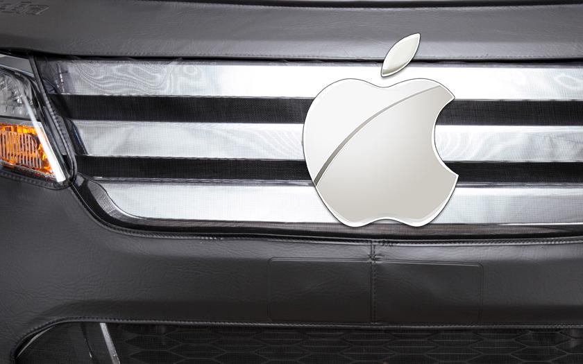 Samořízený vůz Applu měl při testech nehodu