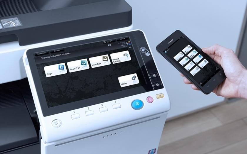 Konica Minolta umožní firmám skenovat dokumenty mobilním telefonem