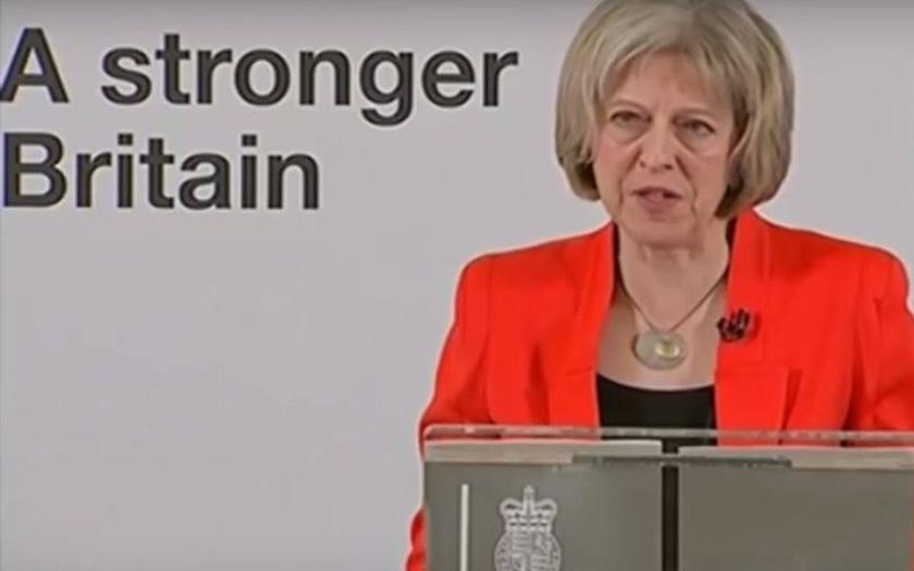 Příčina imigrační krize? Evropa bez hranic. Tvrdí britská ministryně vnitra.
