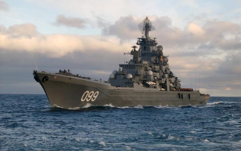 Petr Veliký: Nejmocnější válečná loď ruské Severní flotily
