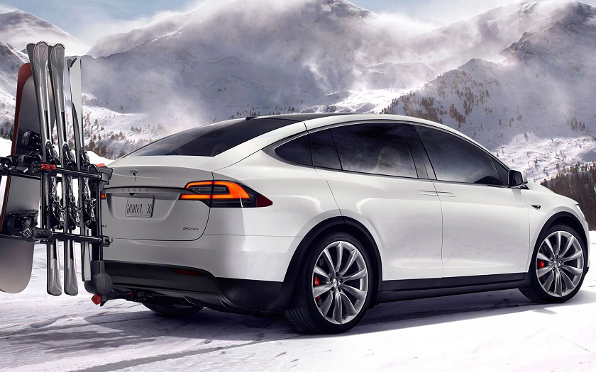 SUV od Tesla Motors: Model X