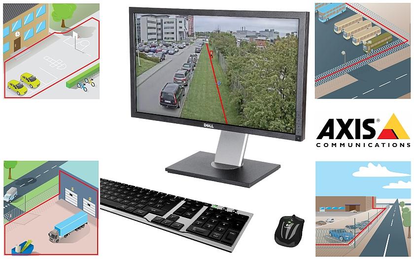 AXIS Guard Suite - software pro analýzu obrazu. Síťovou kameru změní na inteligentní bezpečnostní systém