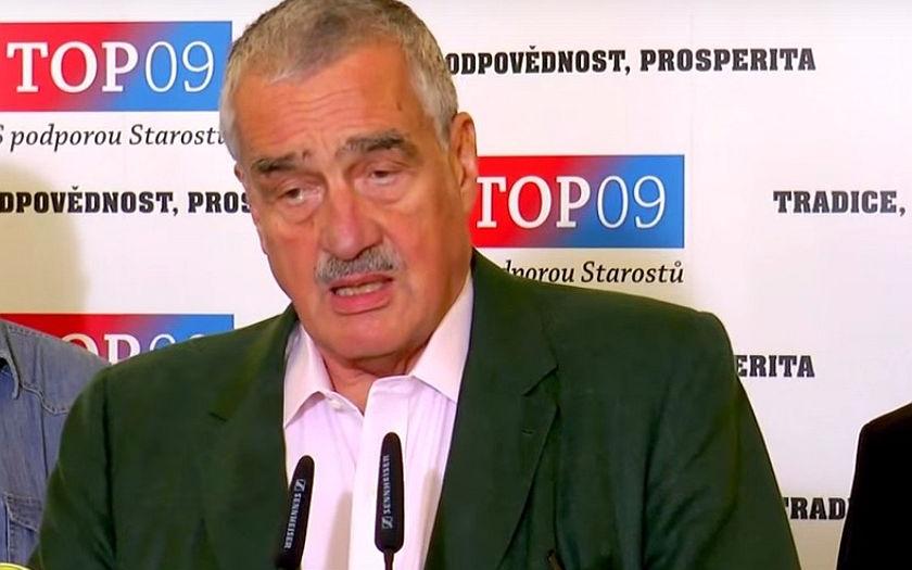 &quote;Jsem z toho smutný, všude vítězí populisté, pomáhej nám pánbůh,&quote; řekl Schwarzenberg