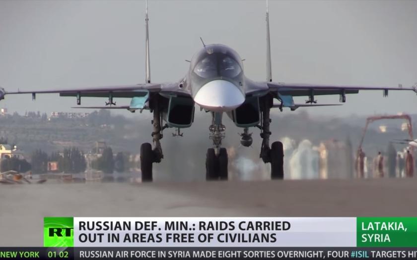 Video: Záběry z ruské základny v Latakii