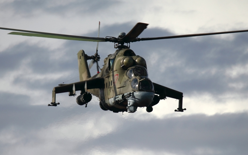 Video: Ruské Mi-24 v akci