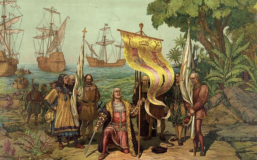 12. října 1492 - Kryštof Kolumbus doplul k Novému světu