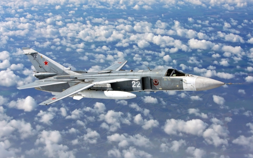 Video: Příprava Su-24 před úderem na Islámský stát
