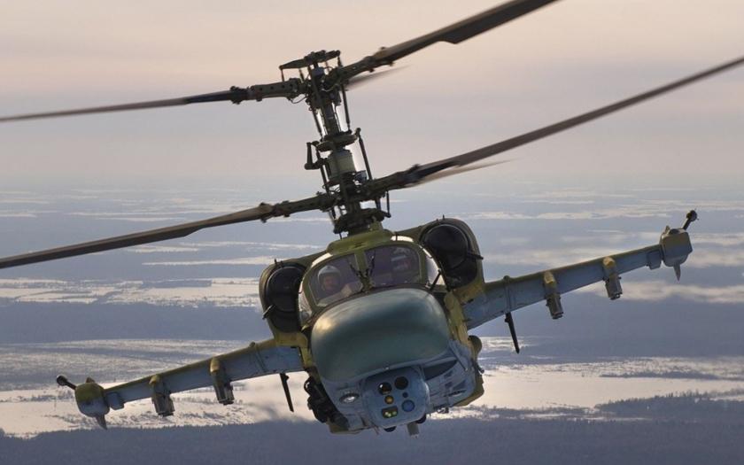 Rusko bude v Sýrii testovat vrtulníky Ka-52