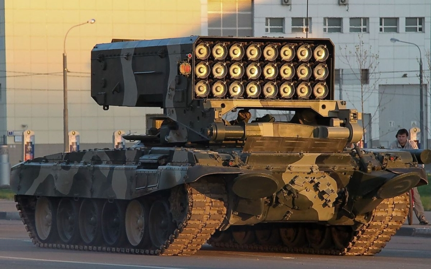 Je ruský smrtící systém TOS-1A už v Sýrii?