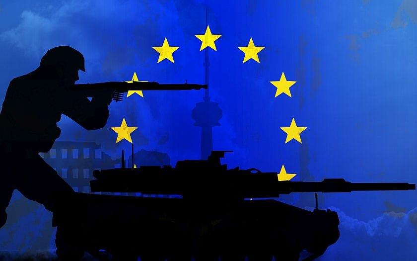 EU se nedokáže ubránit vojenskou silou. Je nutné vytvořit Evropskou armádu s velitelstvím v Bruselu.