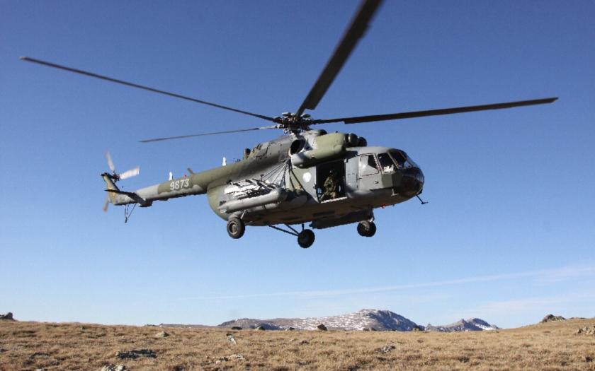 Ve Španělsku havaroval vrtulník české armády, pět zraněných