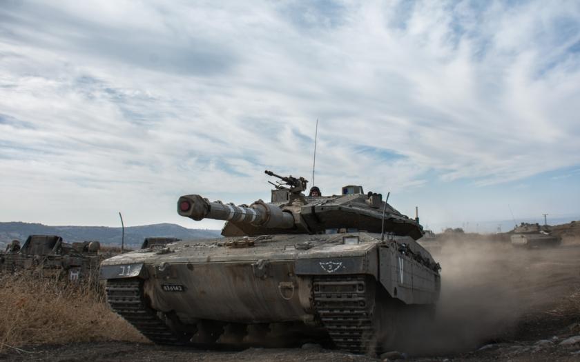 Izrael představil novou verzi tanku Merkava: umělá inteligence, virtuální realita