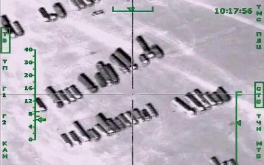 Video: Ruské bombardéry se zaměřují na cisterny ISIS s ropou