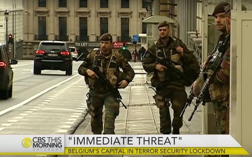 Brusel a Paříž: kdy přijde další útok? Města jsou v obležení armády a policie