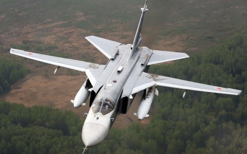 Ruský pilot: Nebyli jsme v tureckém vzdušném prostoru ani sekundu
