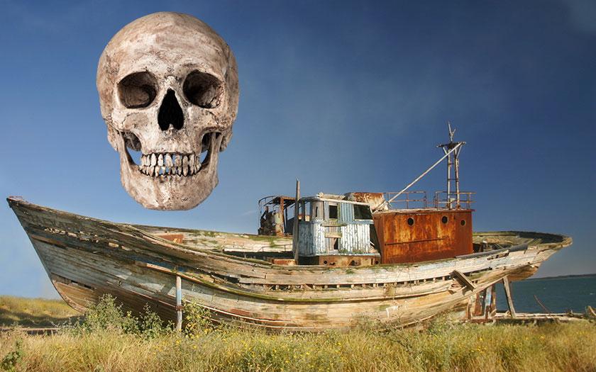 Tajemné lodě plné mrtvol u japonských břehů