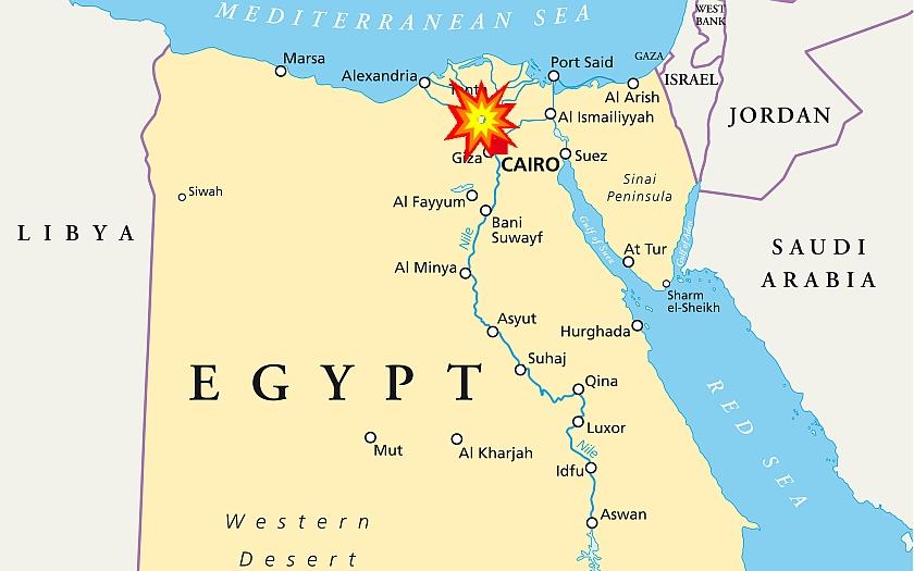 Egypt odsoudil 101 protestujících k pětiletému vězení