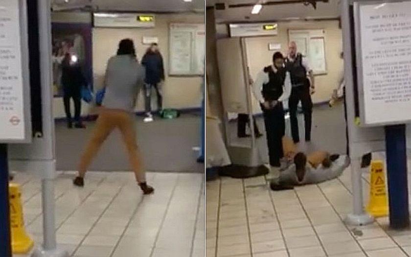 Muž s nožem zaútočil v londýnském metru s výkřikem &quote;To je za Sýrii!&quote;