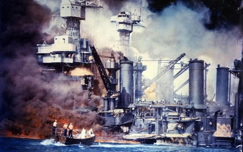 Historie: Před 74 roky napadli Japonci Pearl Harbor