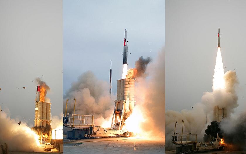 Izrael otestoval protiraketový systém. Téměř stoprocentní ochrana před útoky ze Sýrie nebo Gazy