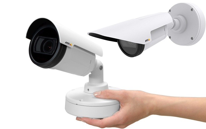&quote;Bullet' IP kamery od Axisu určené pro nonstop denní i noční video dohled.