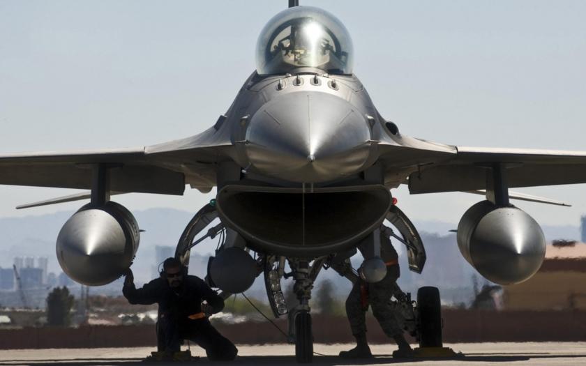 Video: Hútíové sestřelili bahrajnskou F-16