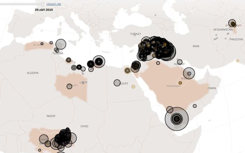 Účet teroristických útoků IS za rok 2015? Stovky obětí po celém světě
