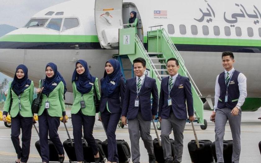 První &quote;šaría kompatibilní&quote; letecká společnost je z Malajsie