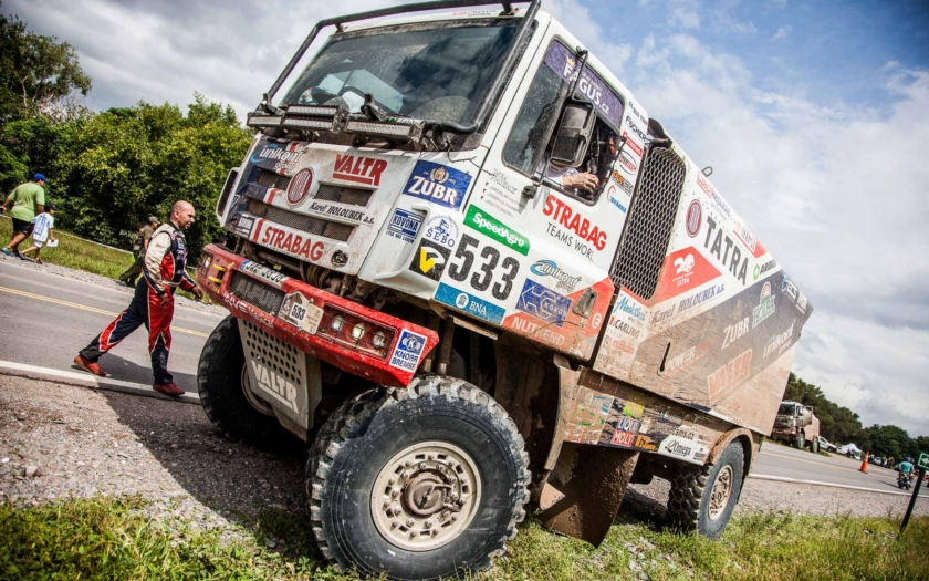 Kolomý na Tatře vítězí ve 3. etapě Rallye Dakar!