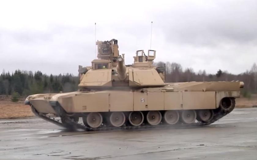 Balet ruských a amerických tanků