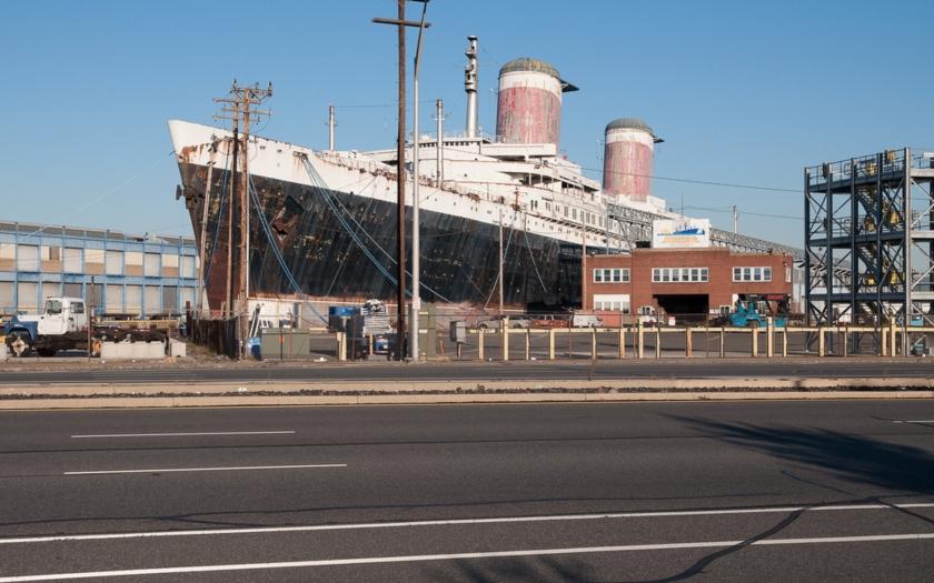 Zapomenutý zaoceánský gigant SS United States