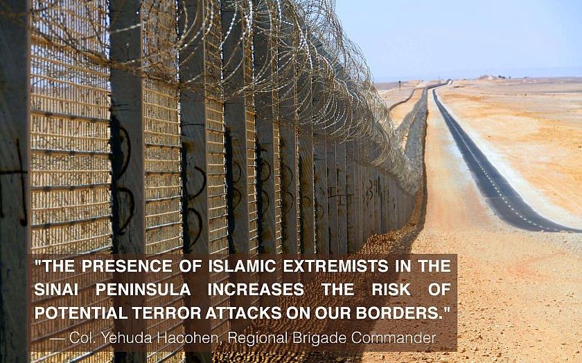 Izraelský plot na hranicích je otázkou národní bezpečnosti země. Proti imigrantům, teroristům a pašerákům