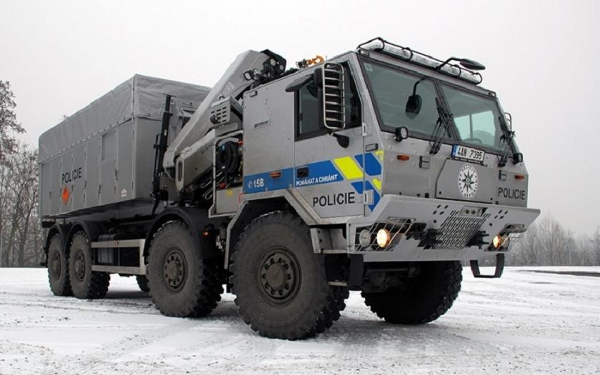 TATRA FORCE pro Pyrotechnickou službu Policie ČR