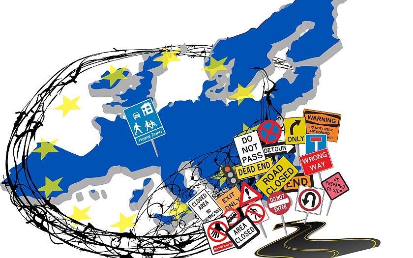 &quote;Evropa musí uzavřít hranice. Staré evropské struktury se hroutí, přicházíme my,&quote; tvrdí Le Penová.