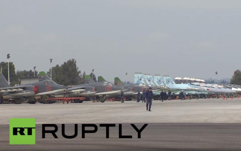 Video: Přílet ruských Su-35S do Sýrie potvrzen