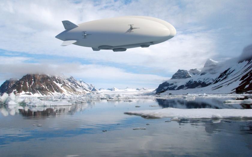 Zakladatel Google chce postavit největší vzducholoď na světě