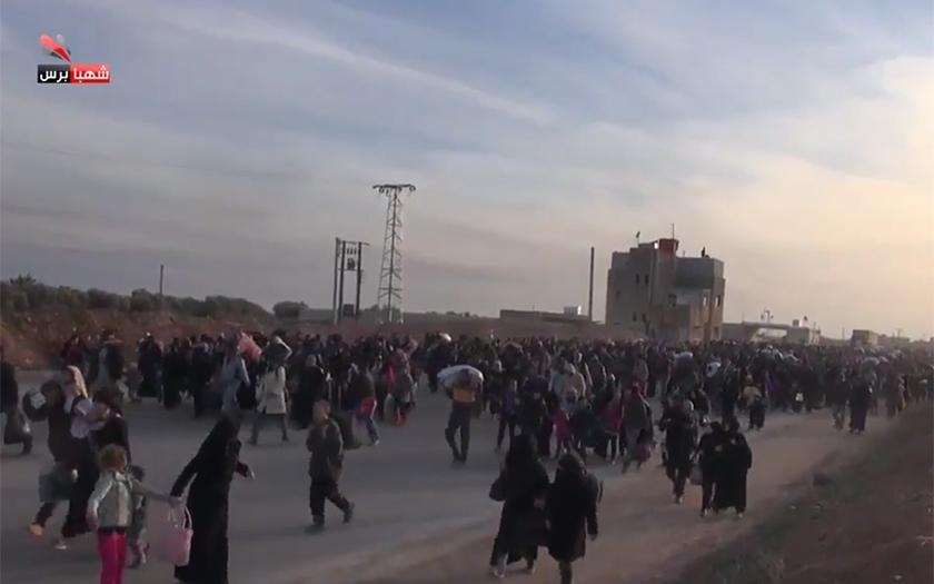 Ruské útoky na Aleppo způsobily masivní exodus