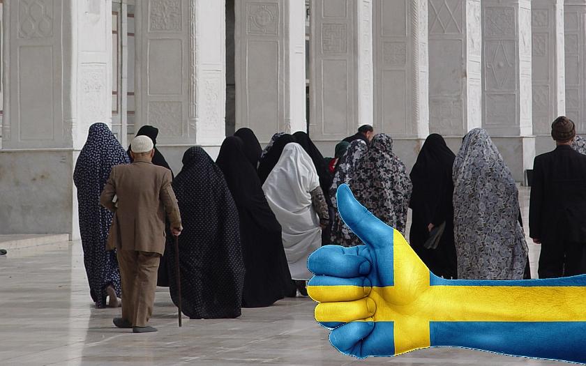 Švédové obviňují vládu z podpory přistěhovalců proti vlastním občanům. Muslimové totiž volí levici