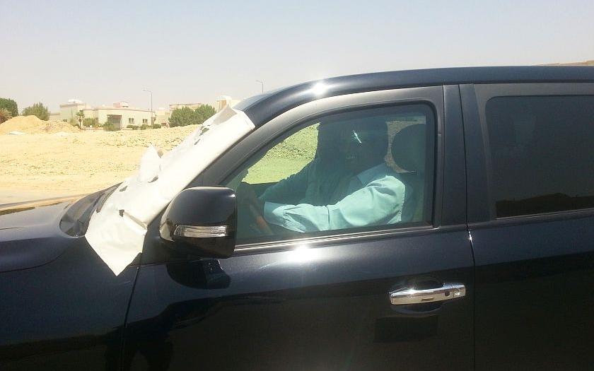 Jak se trénují řidiči diplomatických vozidel v Saúdské Arábii